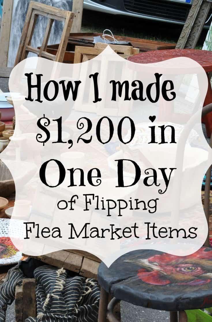flea market flipipng