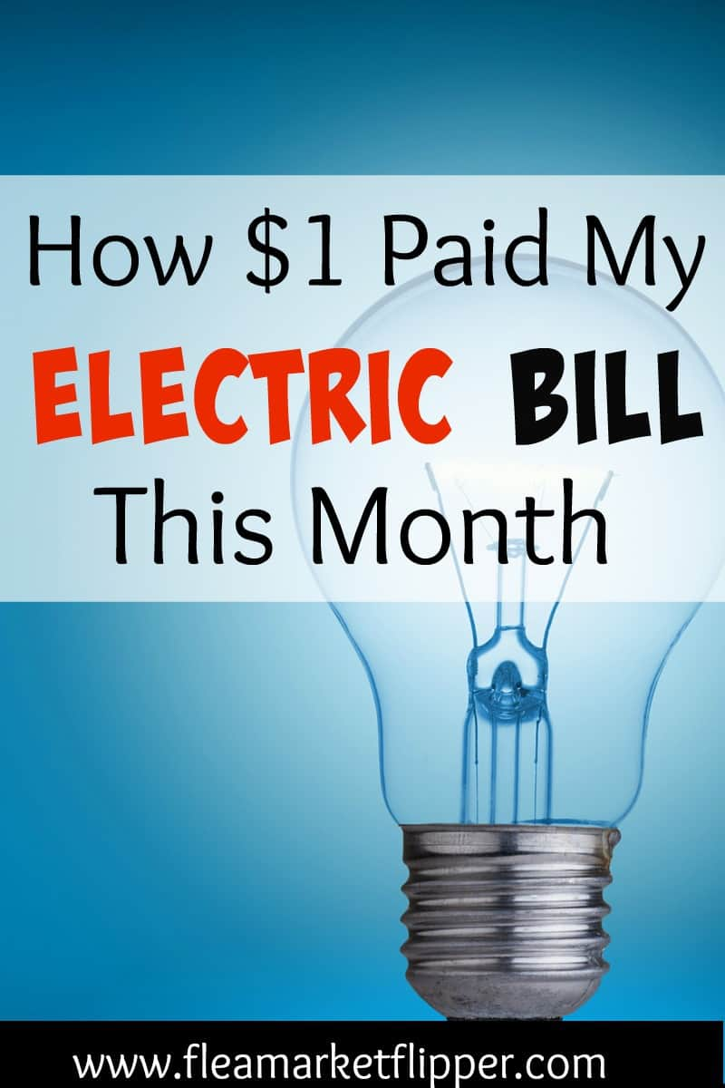 $1 electric bill