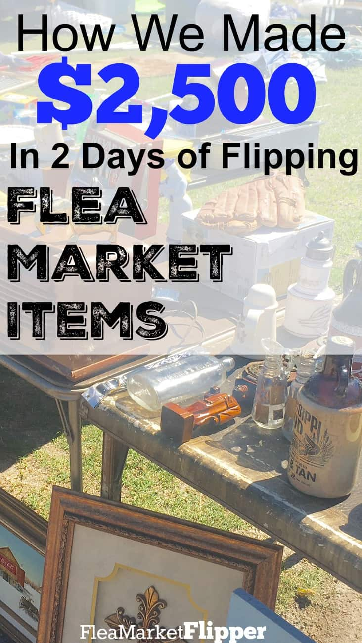 Do you love flea markets, thrift stores and yard sales? Make money with doing something you love!