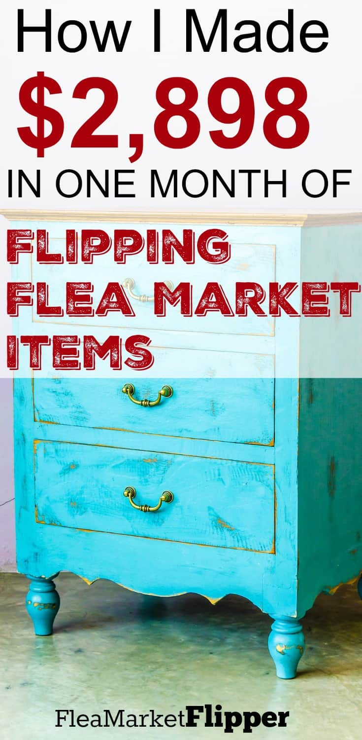 How I made $2,898 in ONE month of Flipping Flea Market items for profit. Love finding treasures every month! #fleamarket #flipping #reseller #ebay #offerup #craigslist via @Fleamarketflipp