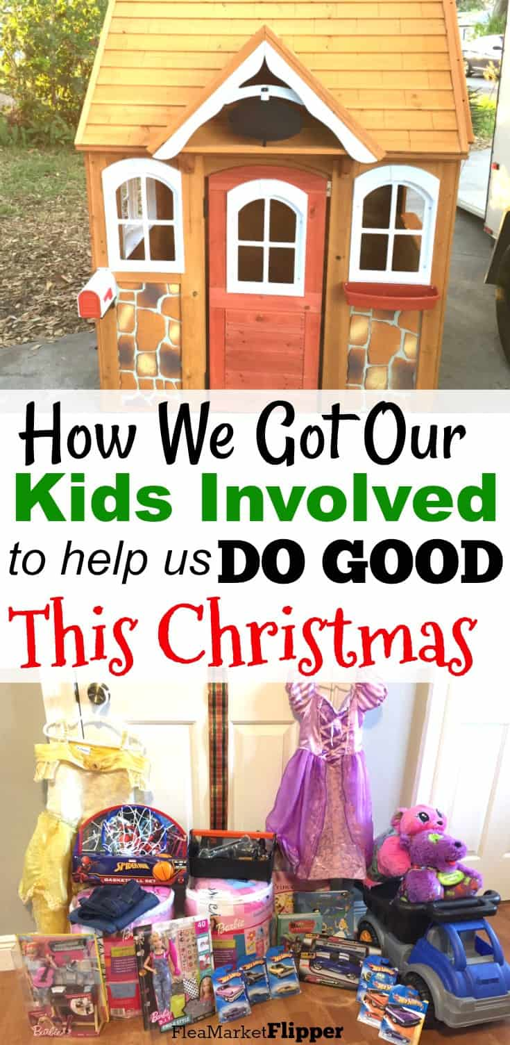 How We Got Our Kids Involved to Do Good This Christmas