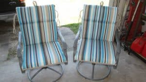 patio chair redo