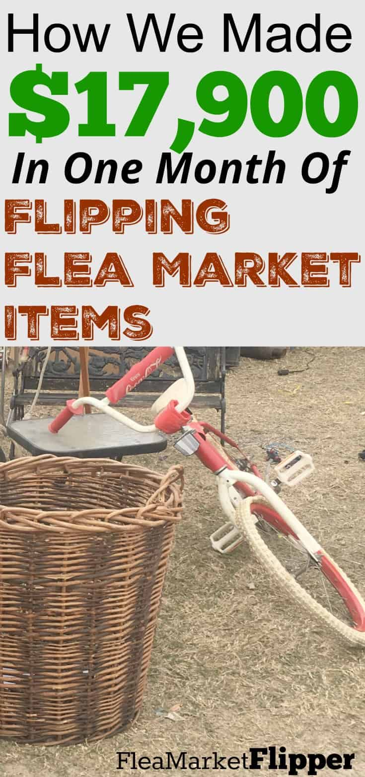 How we made $17,900 in one month of flipping flea market items on eBay. #ebay #ebayreseller #fleamarket #fleamarketflipper #fleamarketflip #thrift #picker #flipper