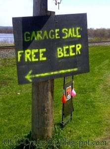 funny yard sale signs