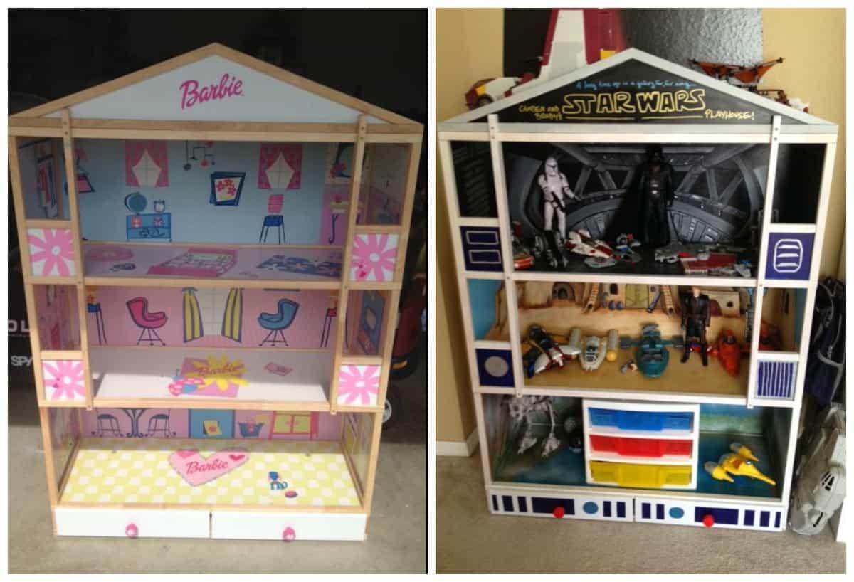 Boy Dollhouse Redo Furniture Flip Flea Market Flipper