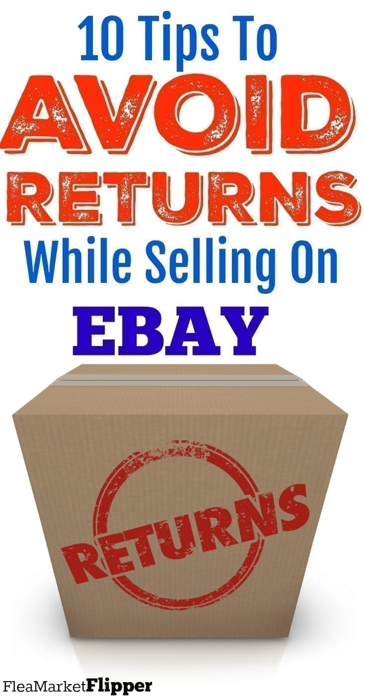 Item Not As described: avoid returns on eBay