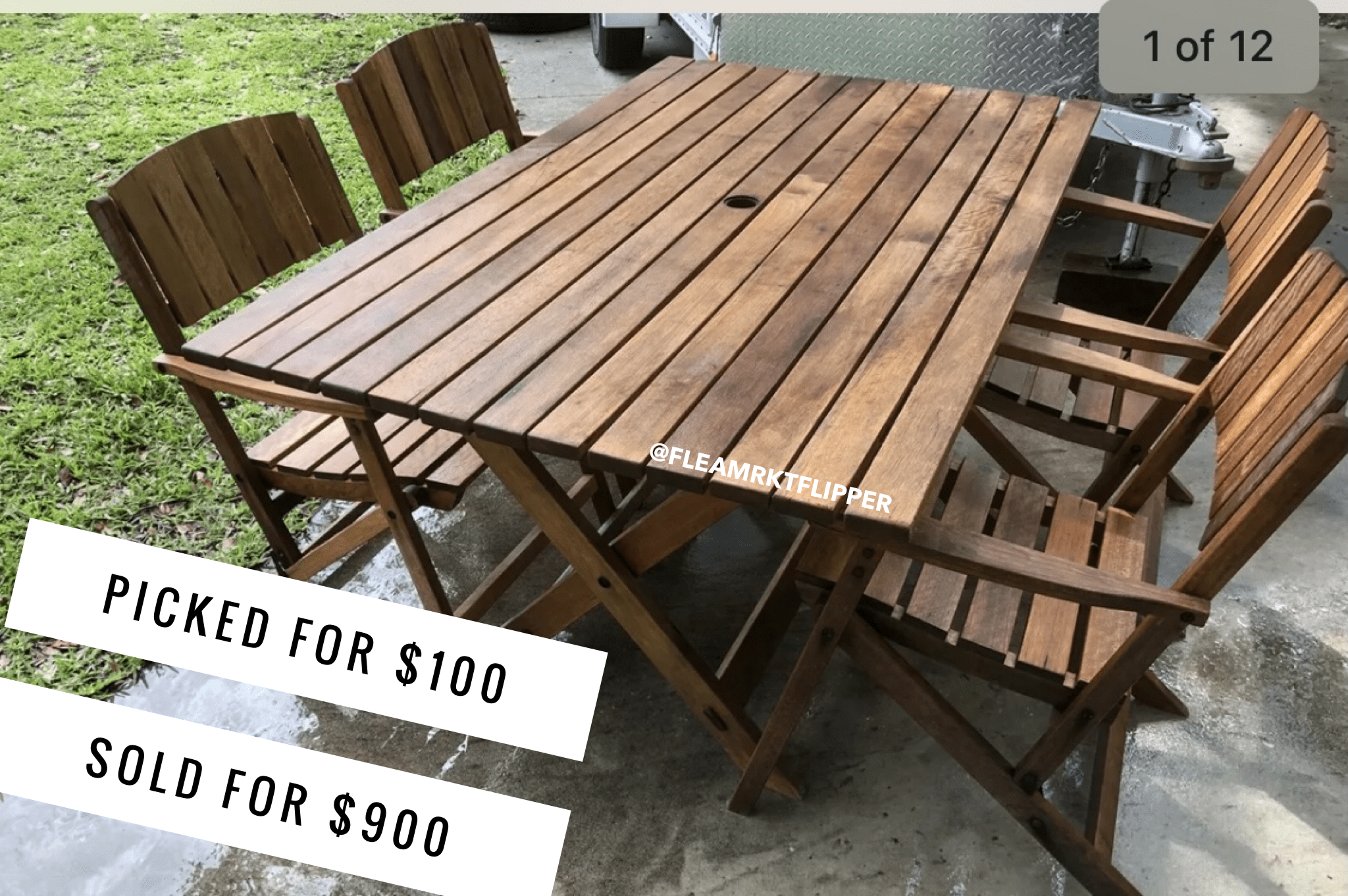 reselling used items