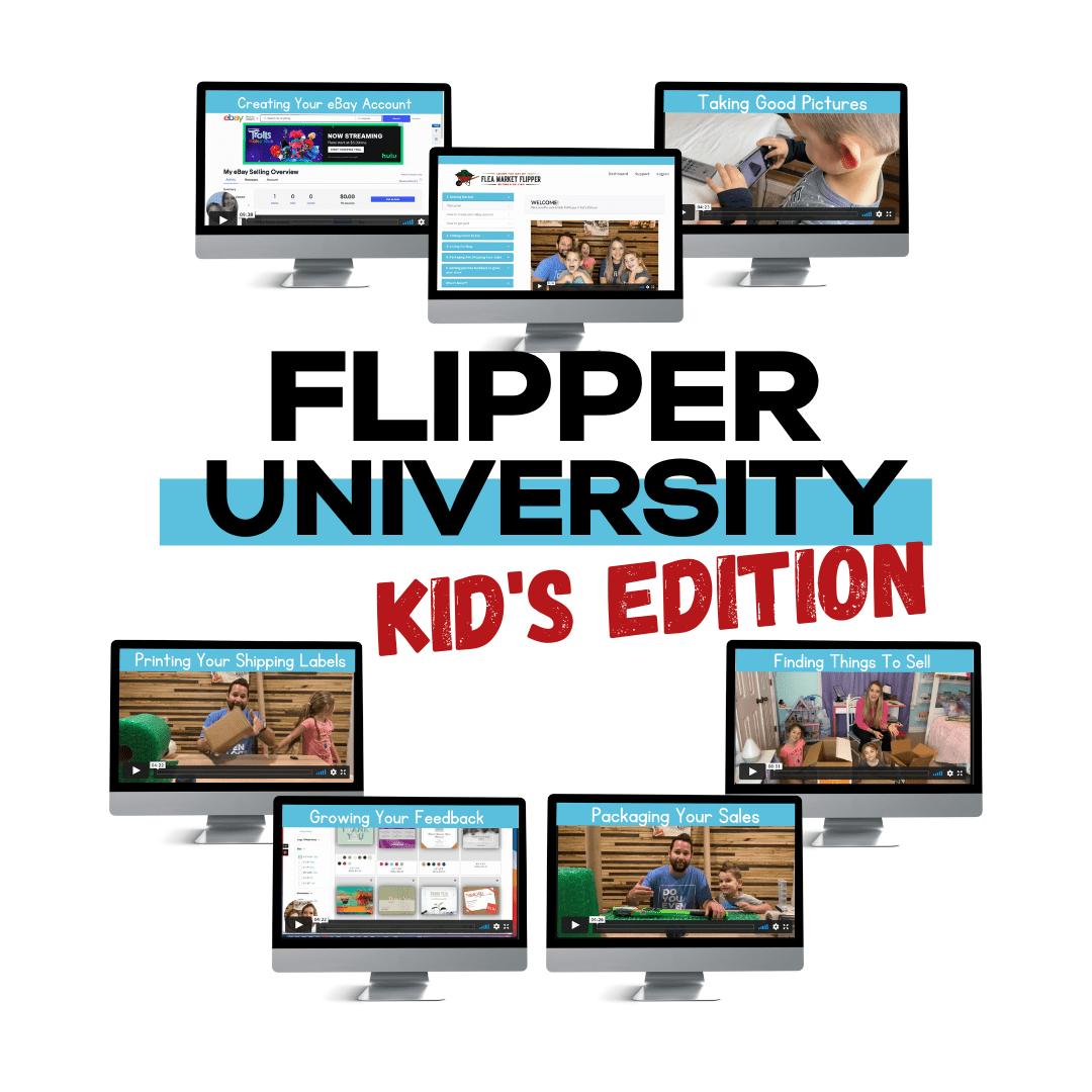 Flipper University Kids Edition